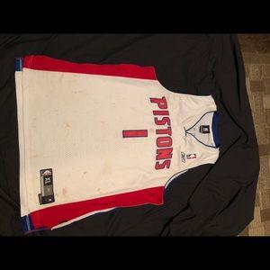 Vintage Detroit pistons Billips stitched jersey